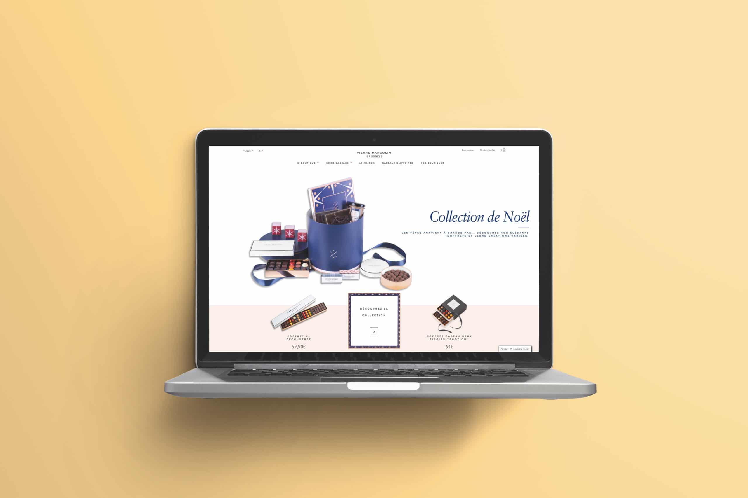 e-commerce pierre marcolini