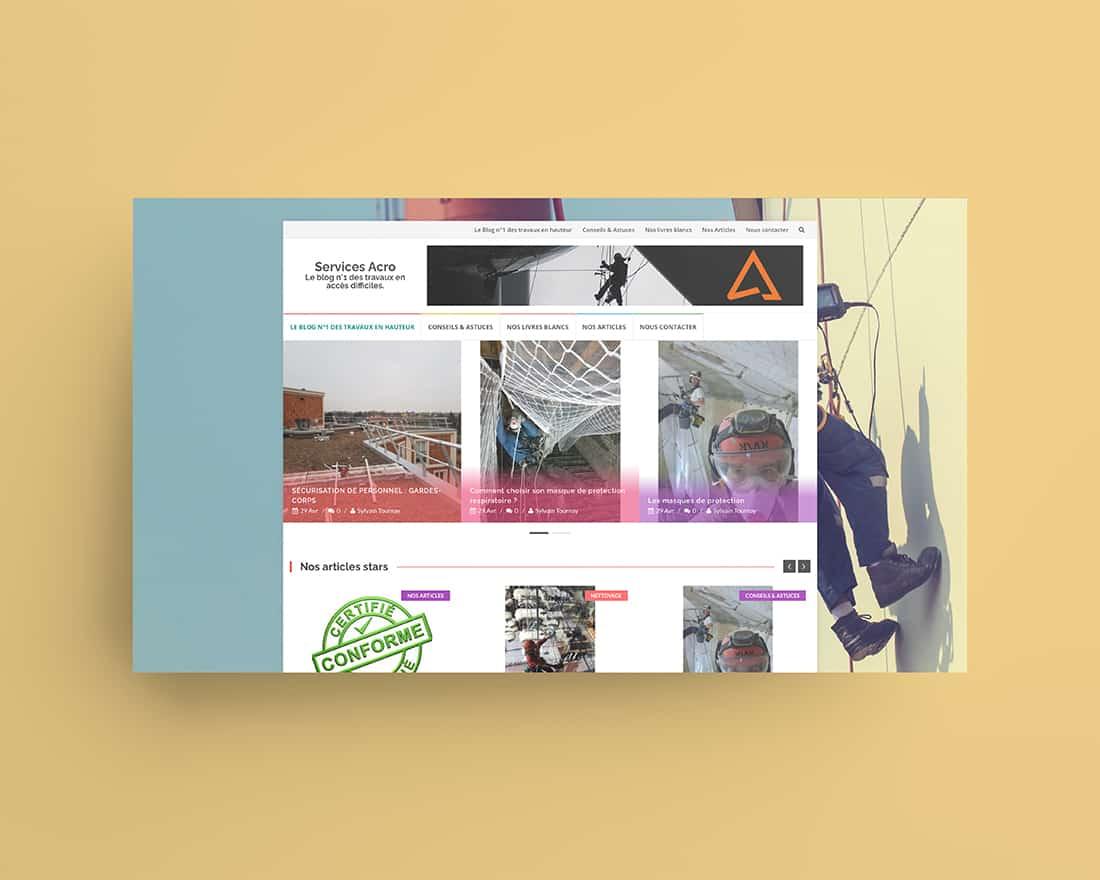 Site Web Service Acros Alsace Madame Monsieur Agency