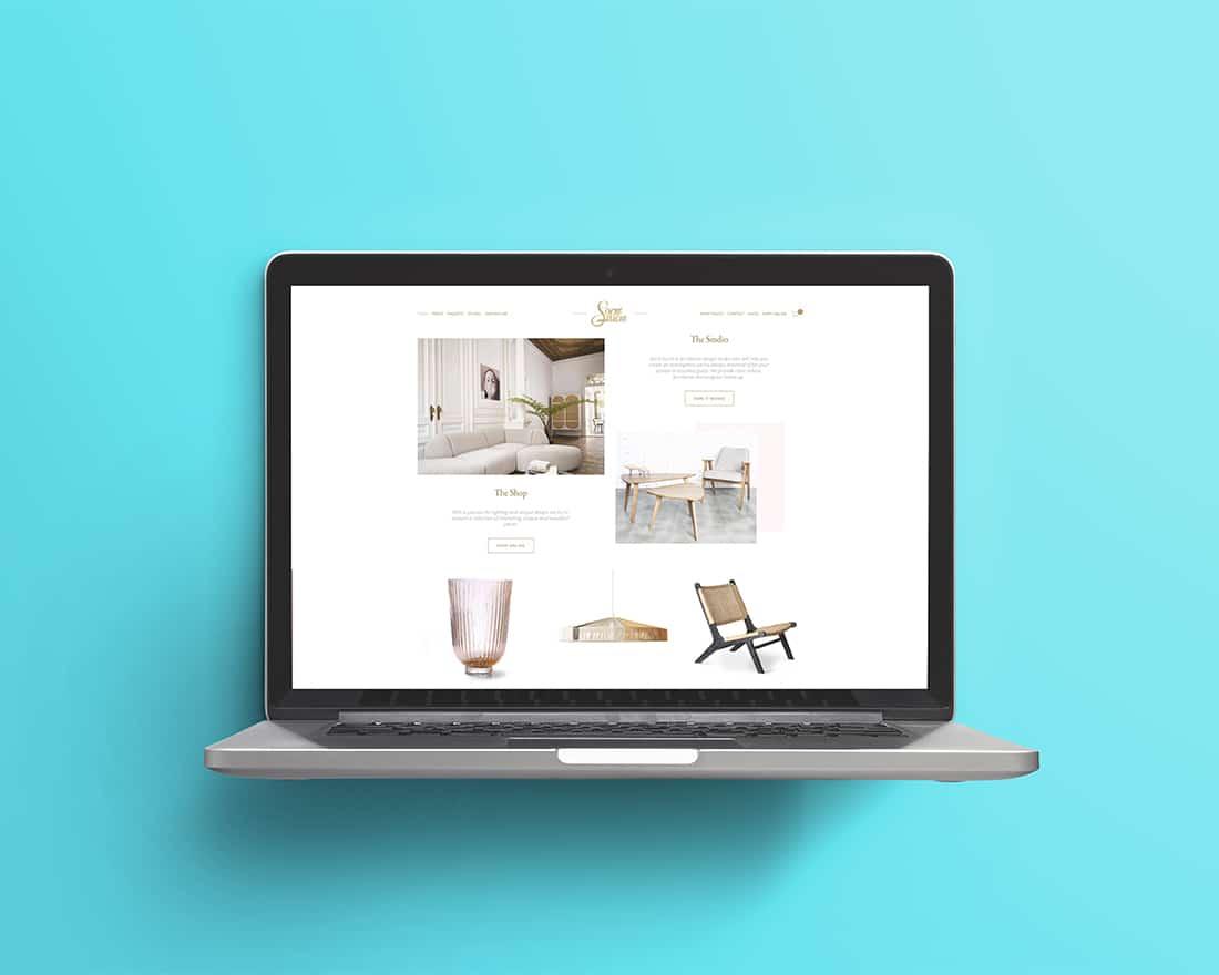 Nos réalisations Site Web Sacré Sucre Madame Monsieur Agency