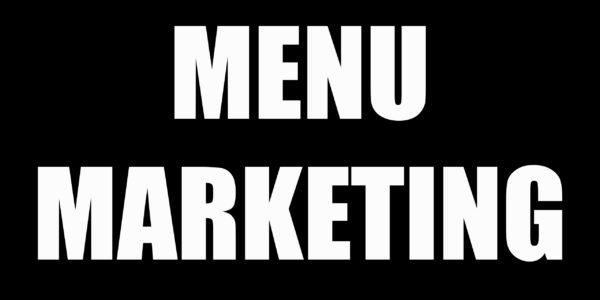 Menu marketing Madame Monsieur Agency