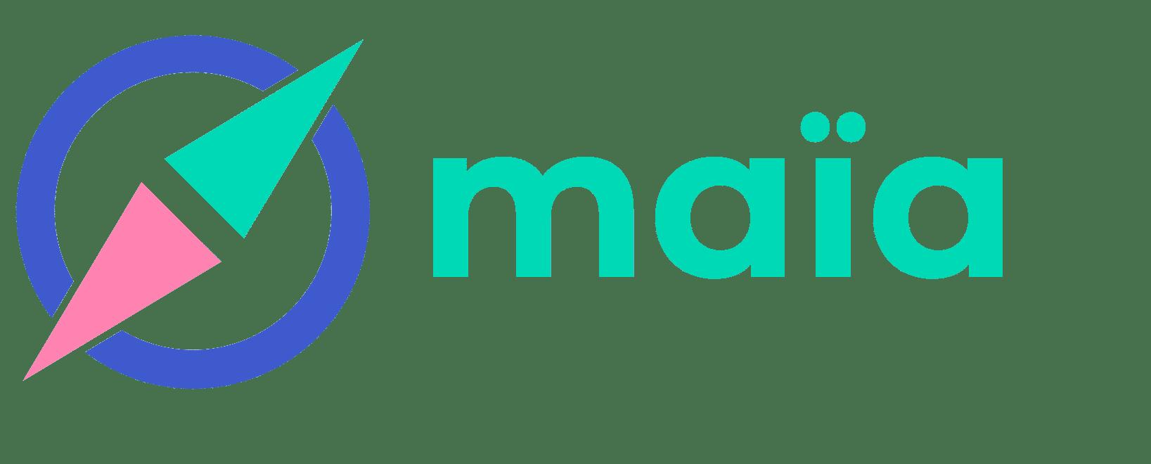 Logo création site Web Maia Madame Monsieur Agency