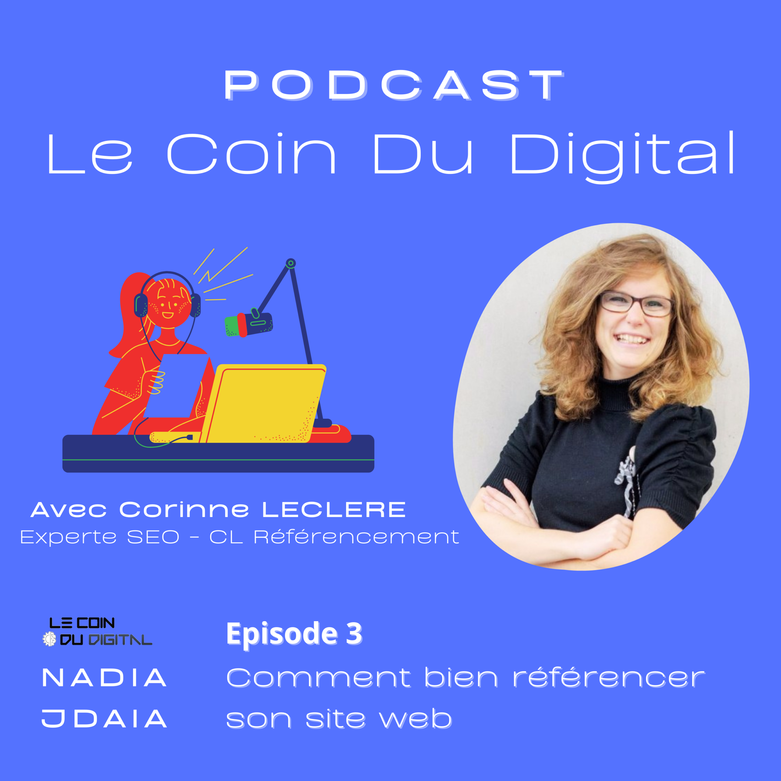 Podcast SEO référencement Madame Monsieur Agency agence de stratégie digitale Mulhouse growth marketing Mulhouse