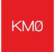 Logo rouge et blanc KM0 Madame et Monsieur Agency