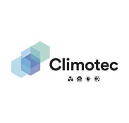 Logo nuance bleu et noir Climotec Madame et Monsieur
